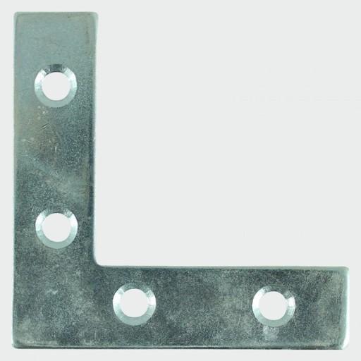 Corner Plate, 75x75x16 mm, 4 pk Image 1