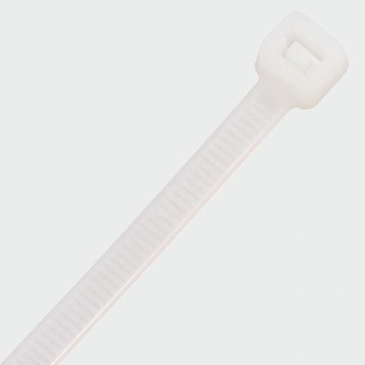 Cable Ties Natural, 7.6x300 mm, 100 pk Image 1