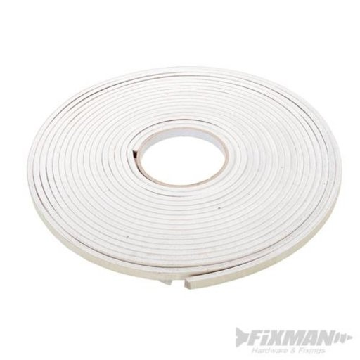 Self-Adhesive EVA Foam Gap Seal, White, 10.5 m Image 1
