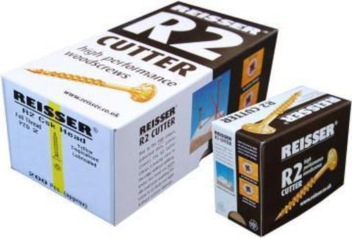 Reisser R2 Cutter Screw, 6.0x60 mm, pack of 200 Image 1
