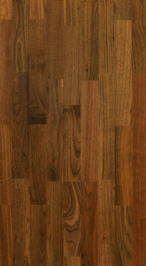 Tradition Classics Engineered 3-Strip Walnut Flooring, Prime, Lacquered, 13.5x195x2200 mm Image 1