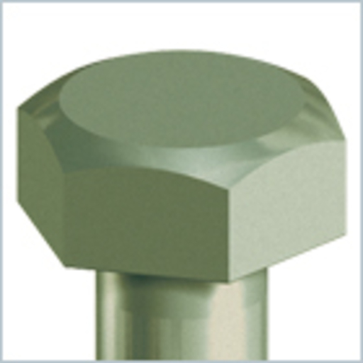 In-Dex Coach Screw, Hex, 8.0x75 mm, 10 pk Image 2