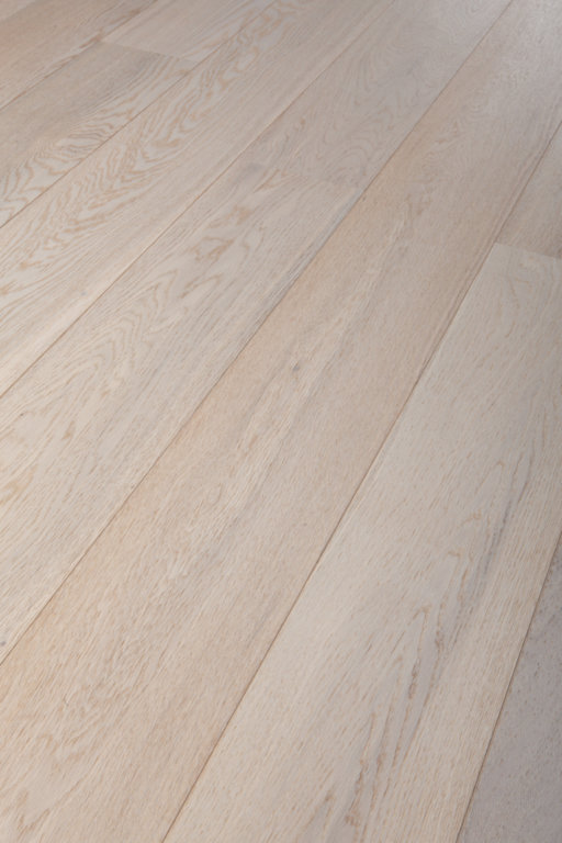 Tradition Classics Witmat Clic Engineered Oak Flooring, Rustic, Brushed & White Matt Lacquered, 189x15x1860 mm Image 4