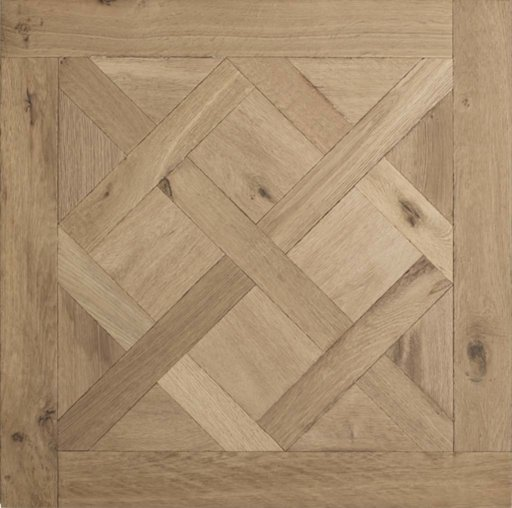 Tradition Classics Versailles Engineered Oak Flooring, Rustic, Smoked, Brushed & Unfinished, 800x20x800 mm Image 1