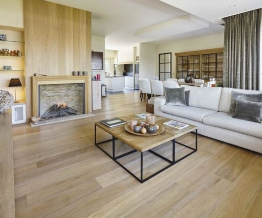 Tradition Classics Loire Engineered Oak Flooring, Smoked, Brushed, White Oiled, 15x190x1860 mm Image 1