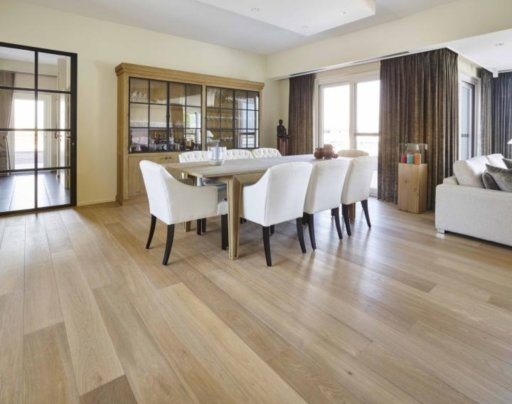 Tradition Classics Loire Engineered Oak Flooring, Smoked, Brushed, White Oiled, 15x190x1860 mm Image 2
