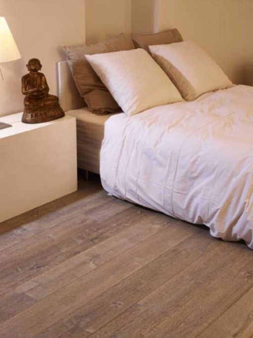 Tradition Classics Cabernet Engineered Oak Flooring, Smoked, Brushed, Handscraped, Grey Oiled, 15x190x1900 mm Image 1