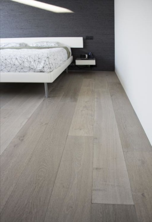 Tradition Classics Grenache Engineered Oak Flooring, Smoked, Brushed, White Washed and Grey Oiled, 15x220x2200 mm Image 2