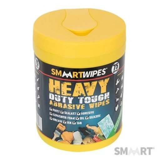 Heavy Duty Touch Abrasive Wipes, 75 pcs Image 1