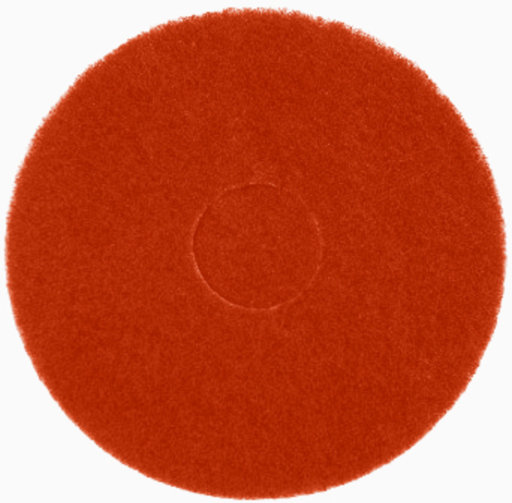 Bona Buffing Cleaning Pads, Red, Pack of 5, 407 mm Image 1