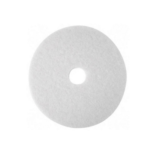 Bona Buffing Cleaning Pads, White, Pack of 5, 407 mm Image 1