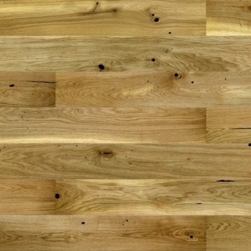 V4 Engineered Oak Flooring, Rustic, Brushed Stained & Matt Lacquered, 180x14x2200 mm Image 3