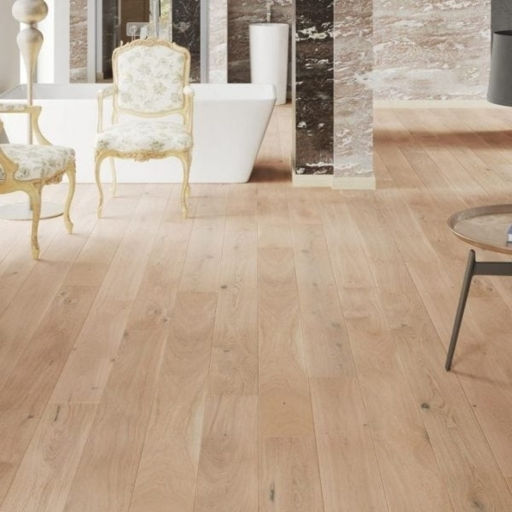 V4 Jetsum Engineered Oak Flooring, Rustic, Brushed Natural Stained & Matt Lacquered, 180x14x2200 mm Image 2