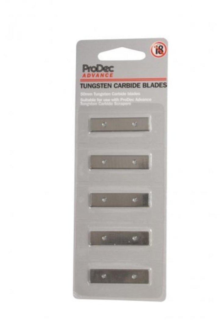 Tungsten Carbide Blades, 50 mm, 5 pcs Image 1