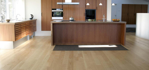 Boen Andante Ash Engineered Flooring, White Stained, Matt Lacquered, 138x3.5x14 mm Image 1