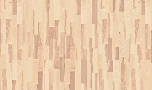 Boen Marcato Ash White Engineered 3-Strip Flooring, White Stained, Matt Lacquered, 215x3x14 mm Image 2