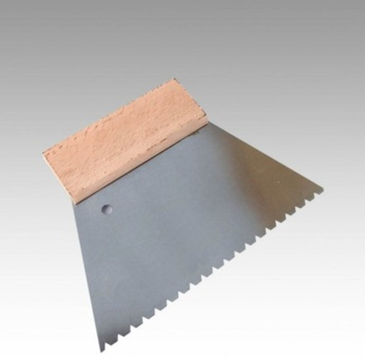 Bona Notched Trowel, 180 mm, 850 G Image 1