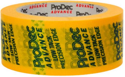 Low Tack Precision Masking Tape, Yellow, 48 mm, 50 m Image 2