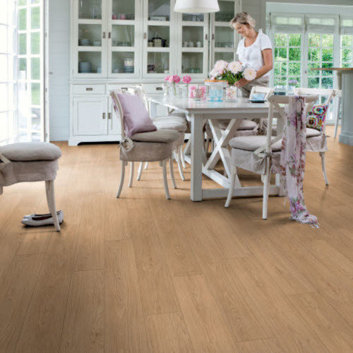 QuickStep Livyn Balance Click Plus Contemporary Oak Light Natural Vinyl Flooring Image 1