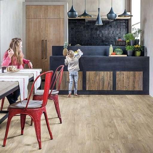 QuickStep Livyn Balance Click Plus Canyon Oak Light Brown With Saw Cuts Vinyl Flooring Image 2