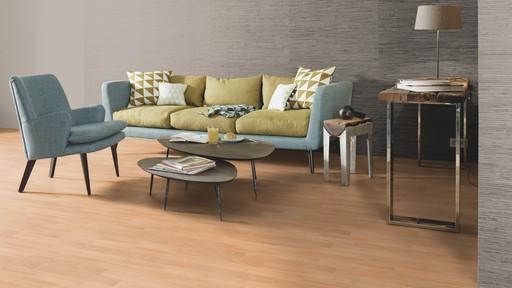 Boen Prestige Beech Parquet Flooring, Natural, Live Matt Lacquered, 10x70x590 mm Image 1