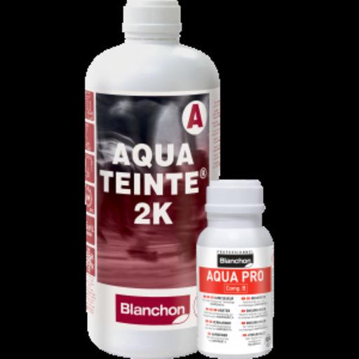 Blanchon Aquateinte 2K, PU Waterbased Stain, Wenge, 5L Image 1