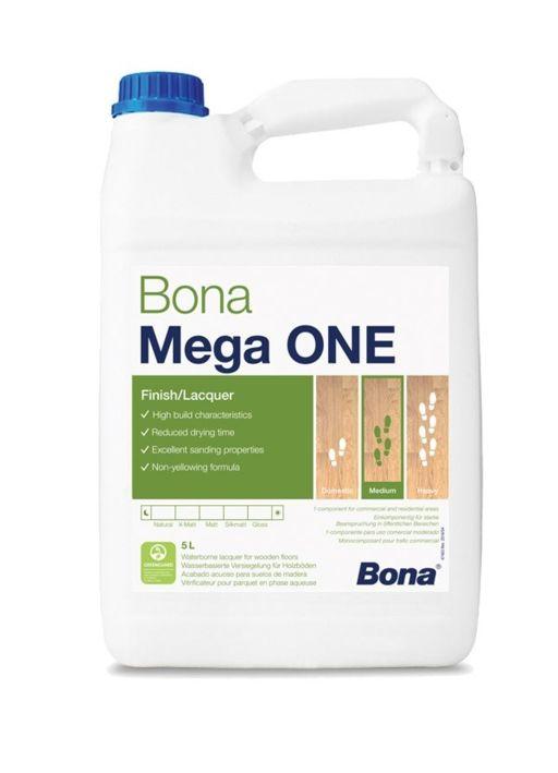 Bona Mega One, Silk Matt Varnish, 5L Image 1