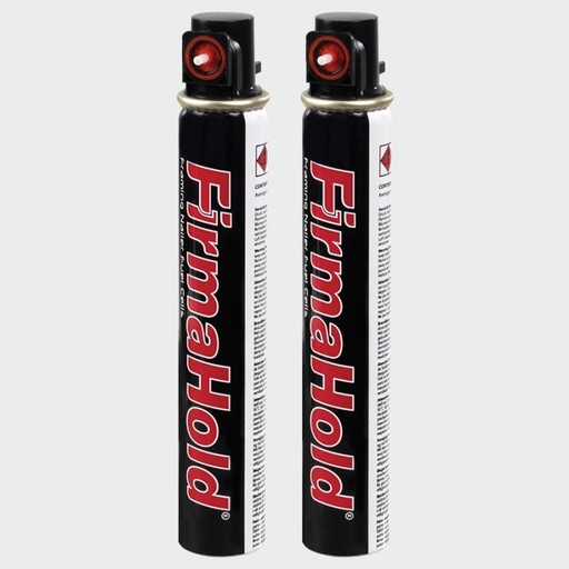 FirmaHold Nail & Gas, 3.1 x 90 mm, Angled Brads & Fuel Pack, Bright Image 1
