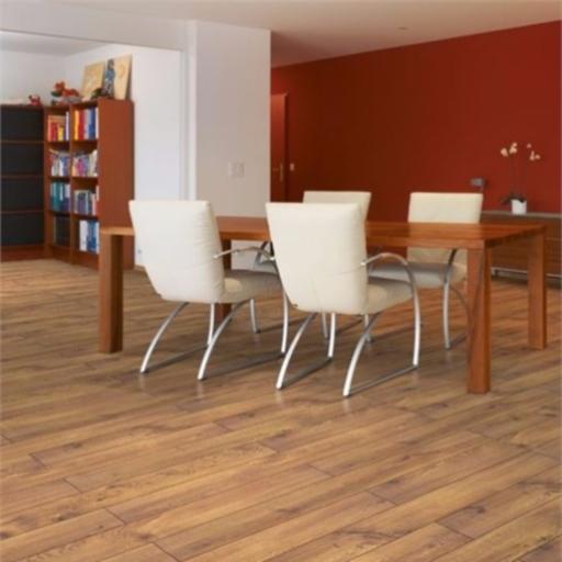Chene Cavallo Oak 4-V Groove Laminate Flooring , 8 mm Image 1