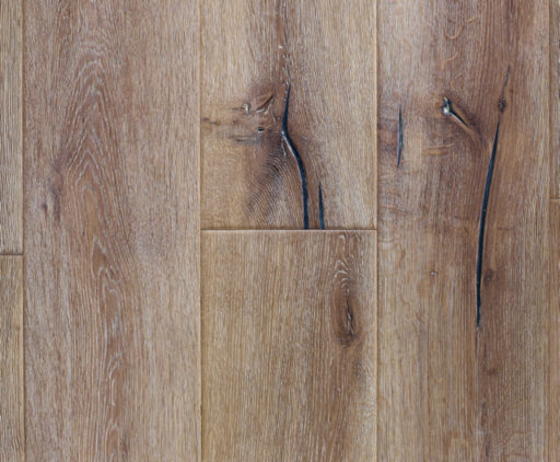 Chene Antique Distressed White Oiled Oak Engineered Flooring, 220x4x15 mm Image 1