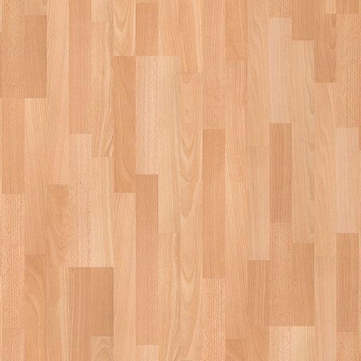 QuickStep CLASSIC Enhanced Beech 3-Stripped Laminate Flooring, 8 mm Image 2