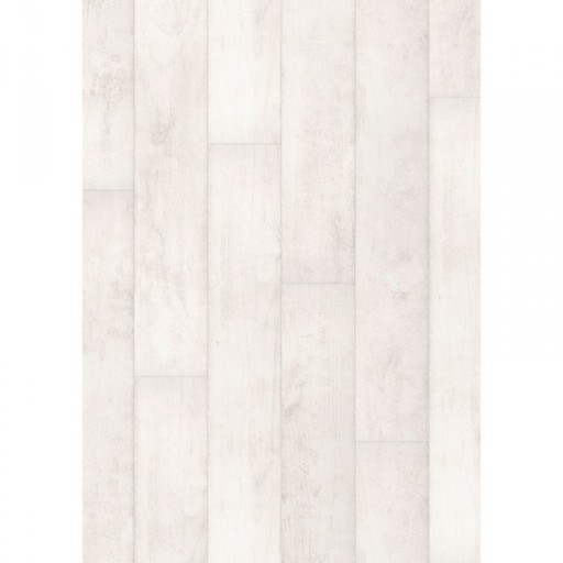 QuickStep CLASSIC Bleached White Teak Laminate Flooring, 8 mm Image 2