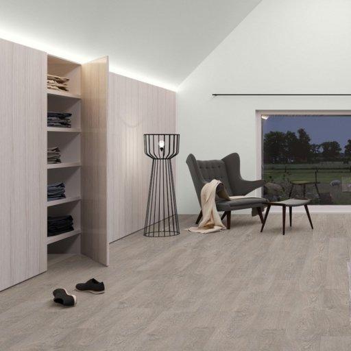 QuickStep CLASSIC Old Oak Light Grey Laminate Flooring, 8 mm Image 2