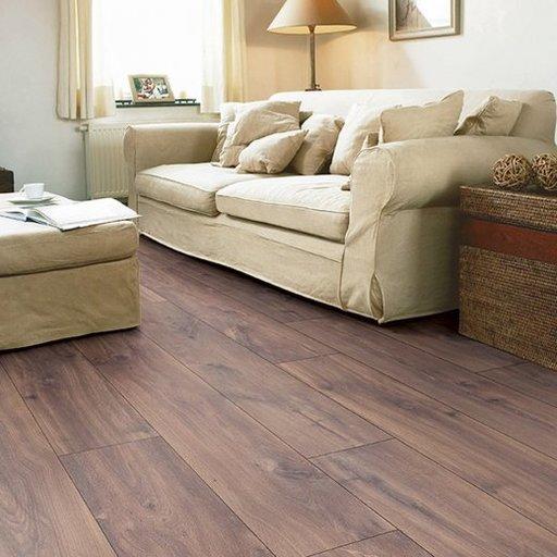 QuickStep CLASSIC Midnight Oak Brown Laminate Flooring, 8 mm Image 1