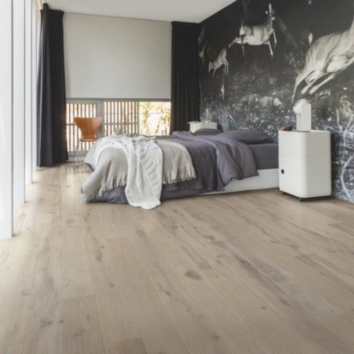 Quickstep Compact Dusk Oak Engineered Flooring, Oiled, 145x2.5x12.5 mm Image 1