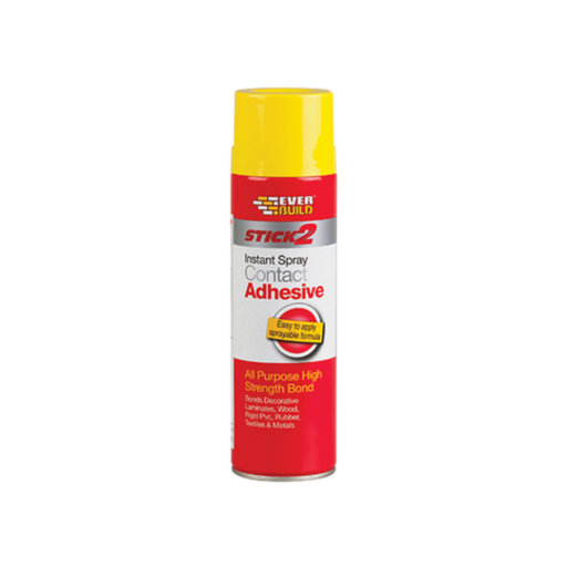 Everbuild Spray Contact Adhesive, 500 ml Image 1
