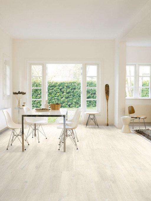 QuickStep Creo Charlotte Oak White Laminate Flooring, 7 mm Image 1