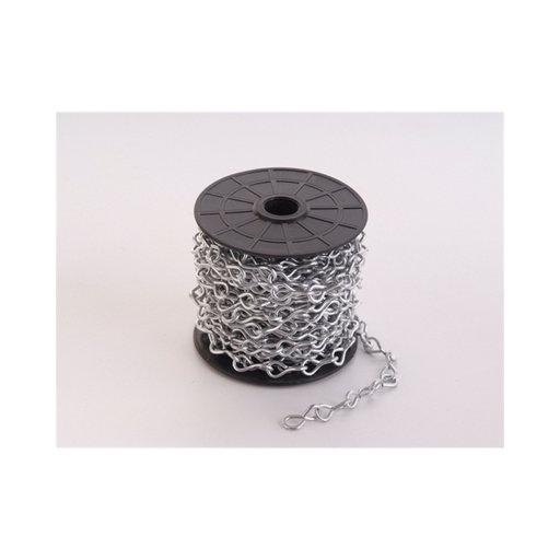 Single Jack Chain, 2 mm, Pre-Galvanised, 5 m Image 1