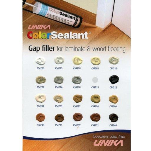 Unika Color Sealant, Walnut, 310 ml Image 3