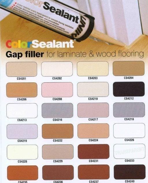 Unika Color Sealant, Walnut, 310 ml Image 4