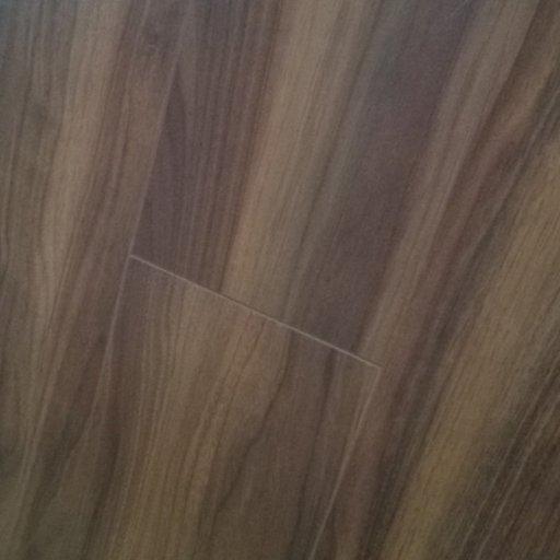 Chene American Walnut 4-V Groove Laminate Flooring, 8 mm Image 2