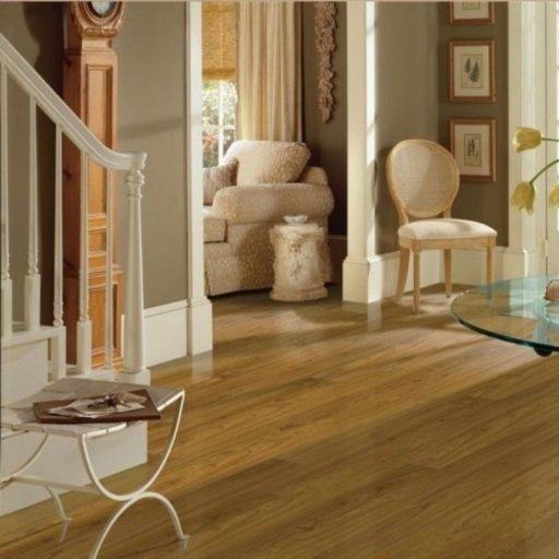Chene Oak Camarge 4-V Groove Laminate Flooring , 8 mm Image 1