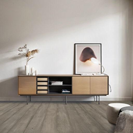 Chene Camden Glaze Oak Engineered Flooring, Brushed & Lacquered, 190x15x1900 mm Image 2