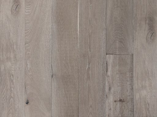 Chene Grey Oak Engineered Flooring, Smoked, Oiled, 190x6x20 mm Image 1