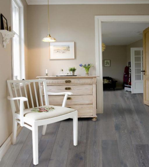 Chene Hampton Rustic Glaze Oak Engineered Flooring, Brushed & Lacquered, 190x15x1900 mm Image 1