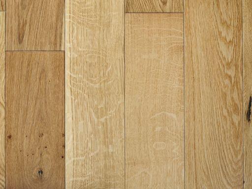 Chene White Oak Engineered Oak Flooring, Brushed, Lacquered, 190x6x20 mm Image 1