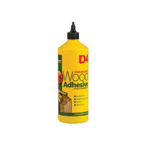 Everbuild D4 Wood Adhesive, 1 L Image 1