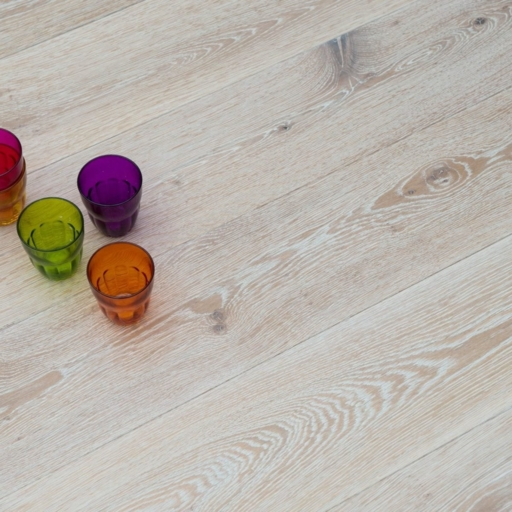 V4 Nordic Beach Engineered Oak Flooring, Rustic, Stained, Brushed & Hardwax Oiled, 190x15x1900 mm Image 2