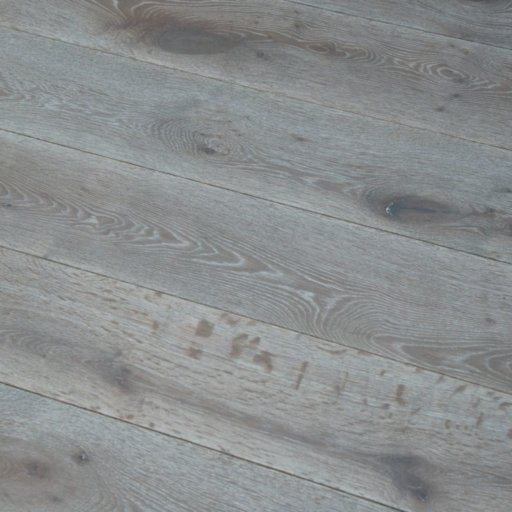 V4 Silver Haze Engineered Oak Flooring, Rustic, Stained, Brushed & Hardwax Oiled, 190x15x1900 mm Image 1