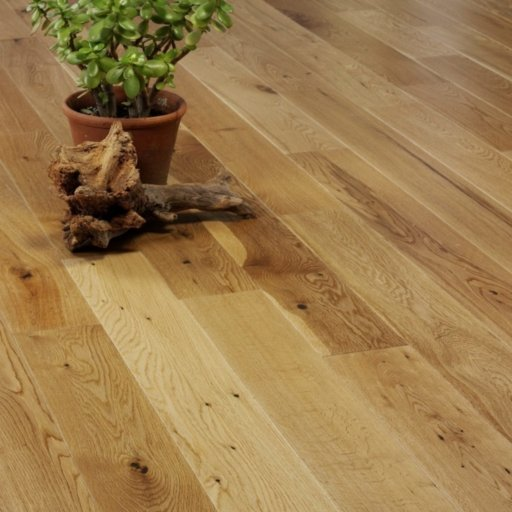V4 Eiger Petit Engineered Oak Flooring, Rustic, Satin Lacquered, 125x18xRL mm Image 3